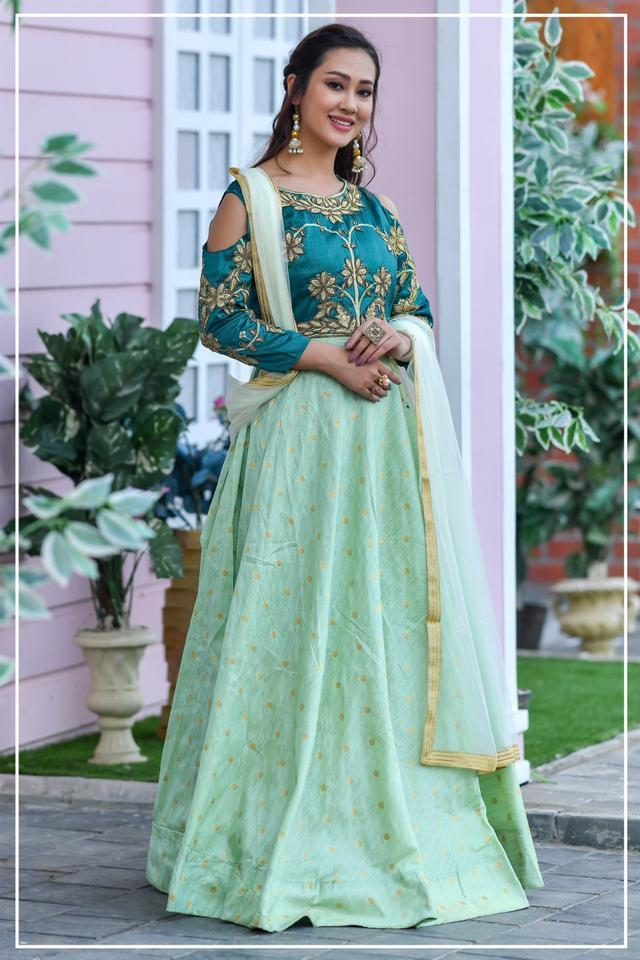 Peafowl Vol 61 By Peafowl Chennai Silk Designer Party Wear Readymade Anarkali Style Suits