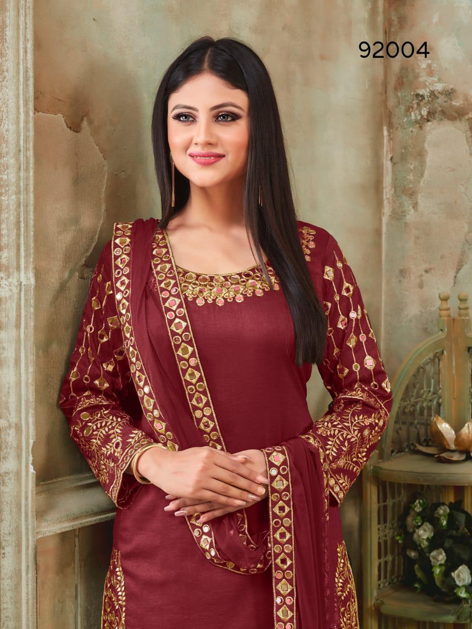 Twisha Present Aanaya Vol 92 Silk Party Wear Classy Look Suit Outfit