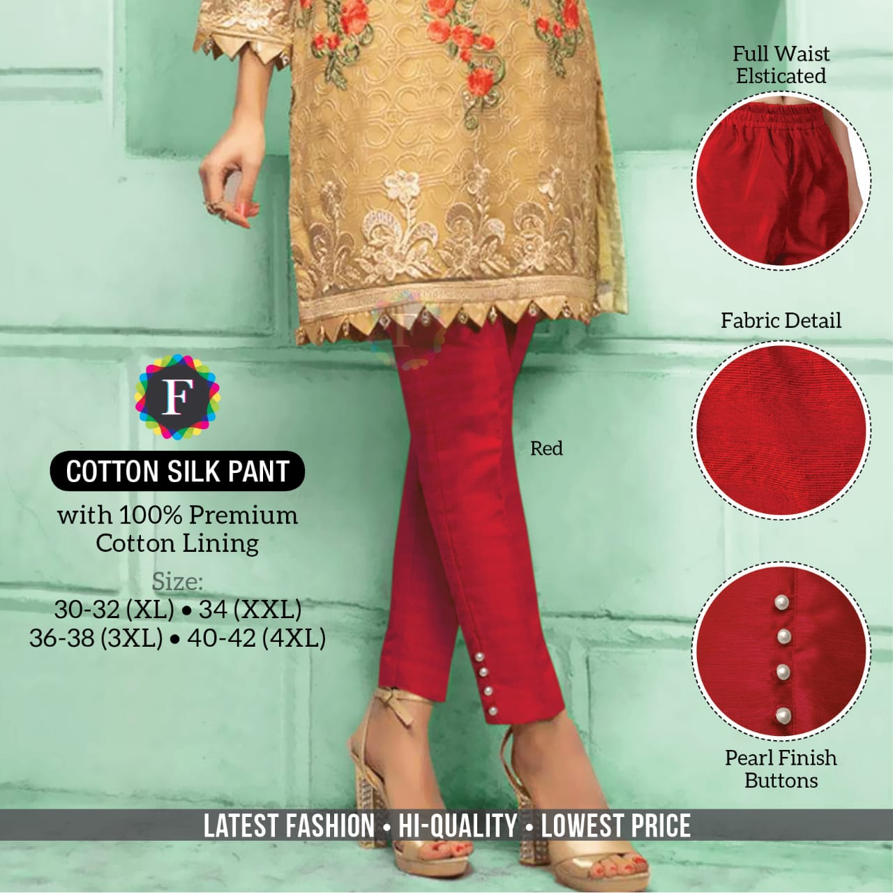 Cotton Silk Pant Bottom Wear Collection Pants Buy Online