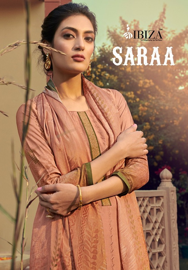 Ibiza Launching Saraa Pure Muslin With Fancy Embroidery Work Salwar Suits Wholesaler