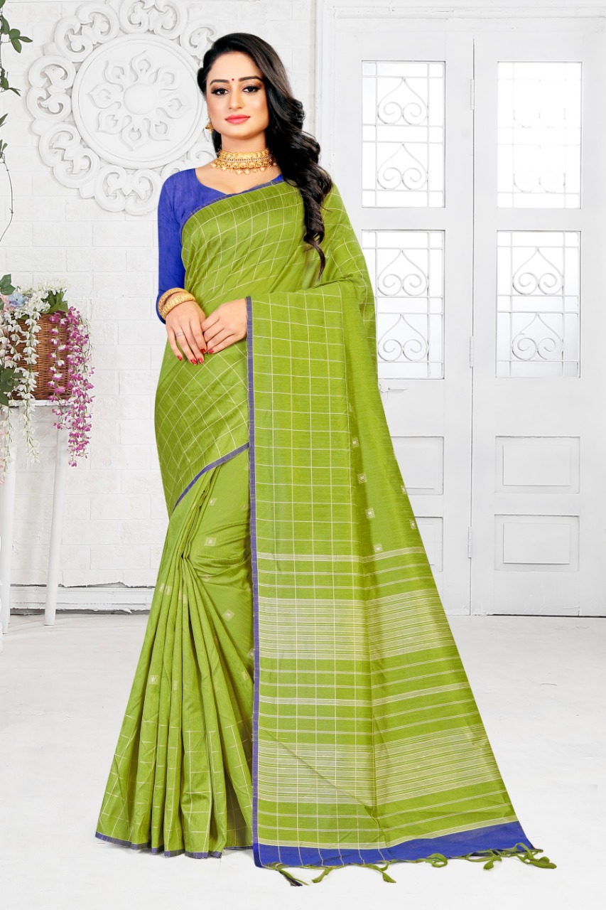 Ishika Saree Muskaan Silk Good Looking Fancy Silk Stylish Saree Collections For Women