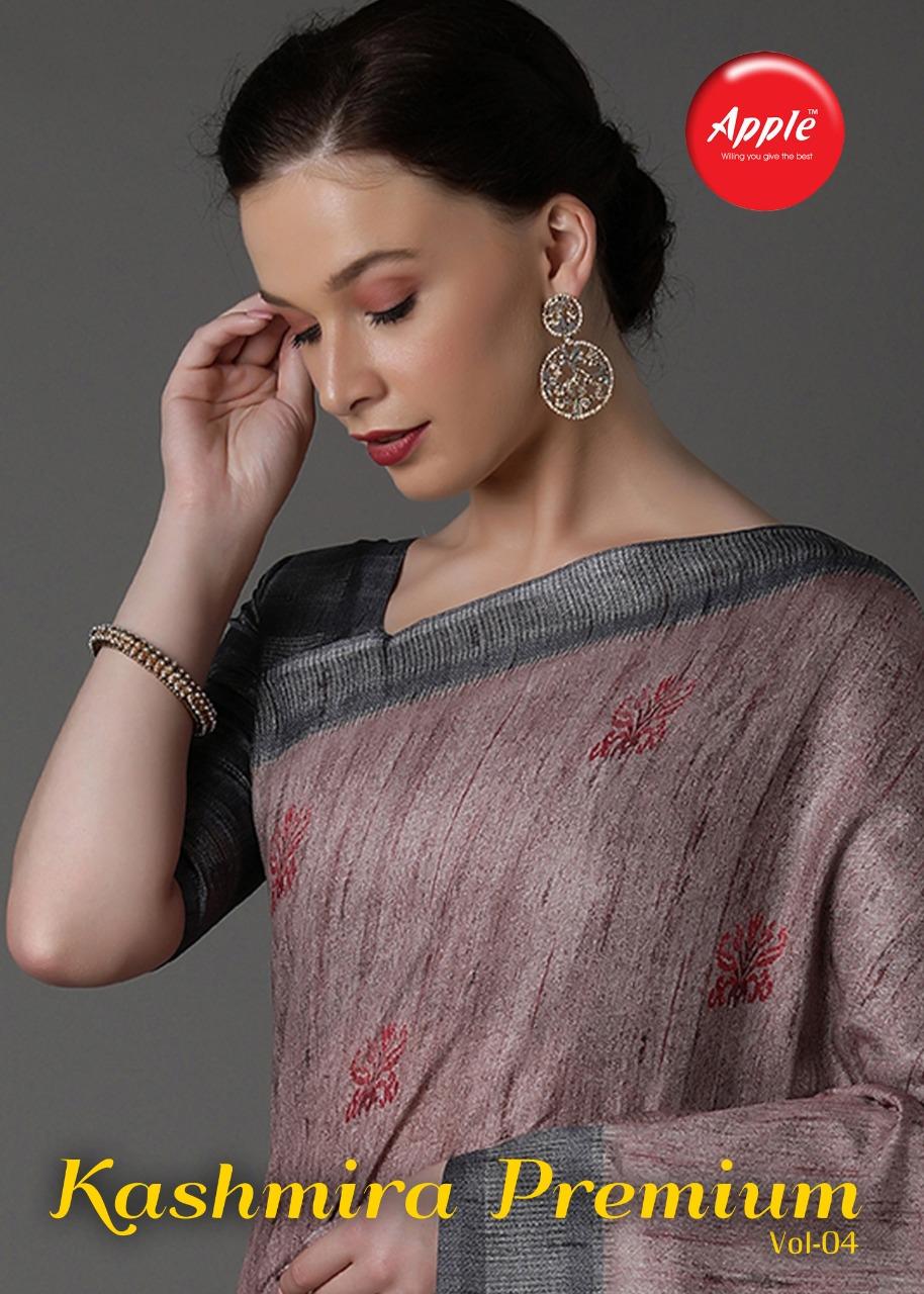 Kashmira Premium Vol 4 By Apple Pashmina Silk With Digital Print Casual Wear Saree
