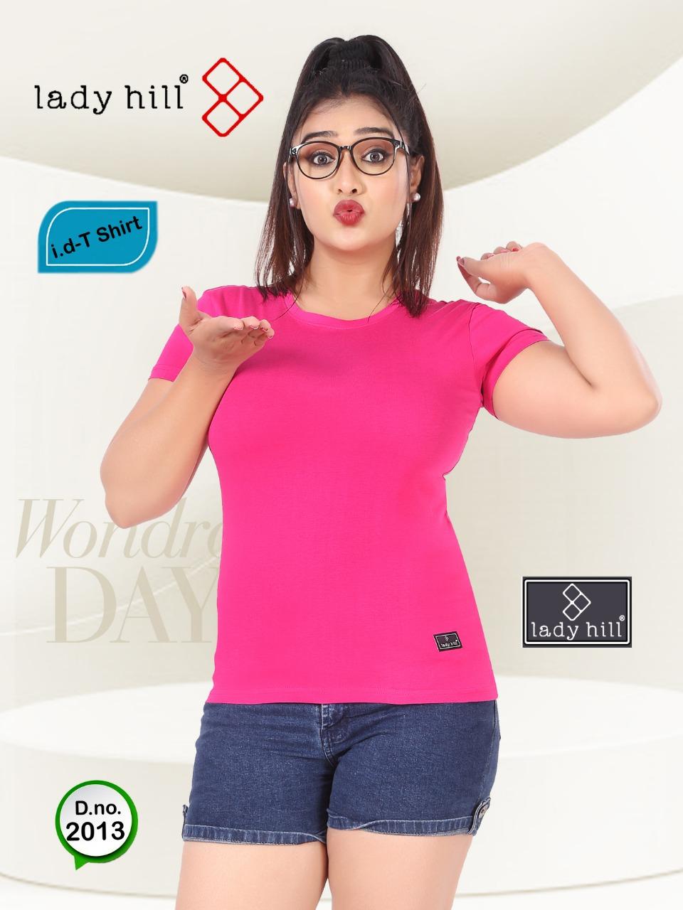 Kavyansika Launch Lady Hill Premium Hosiery Summer Wear T Shirt For Girls