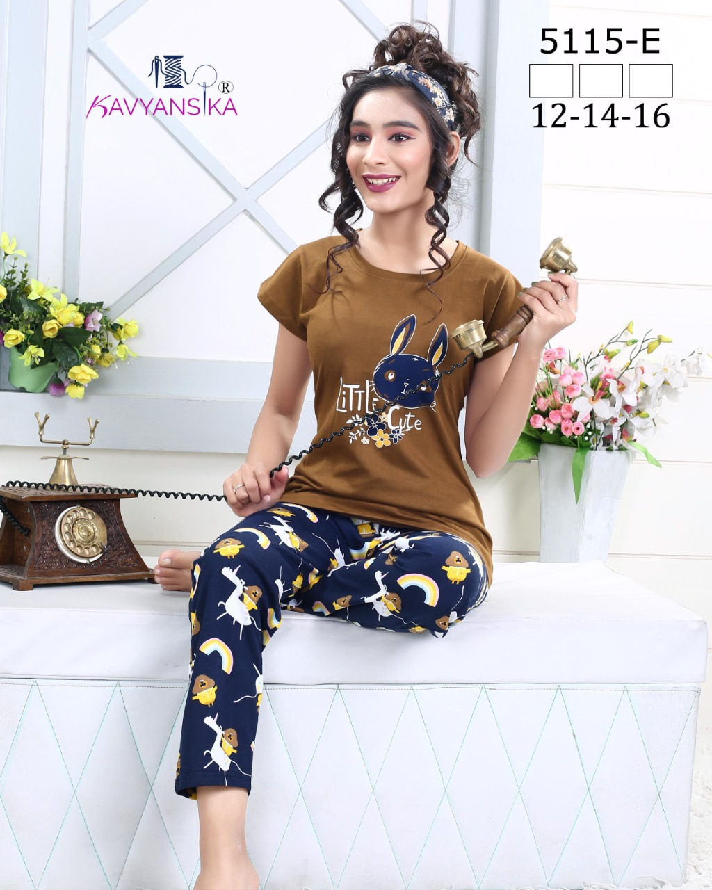 Kavyansika Launch Vol 5115 Hosiery Cotton Exclusive Kids Night Suits Collections