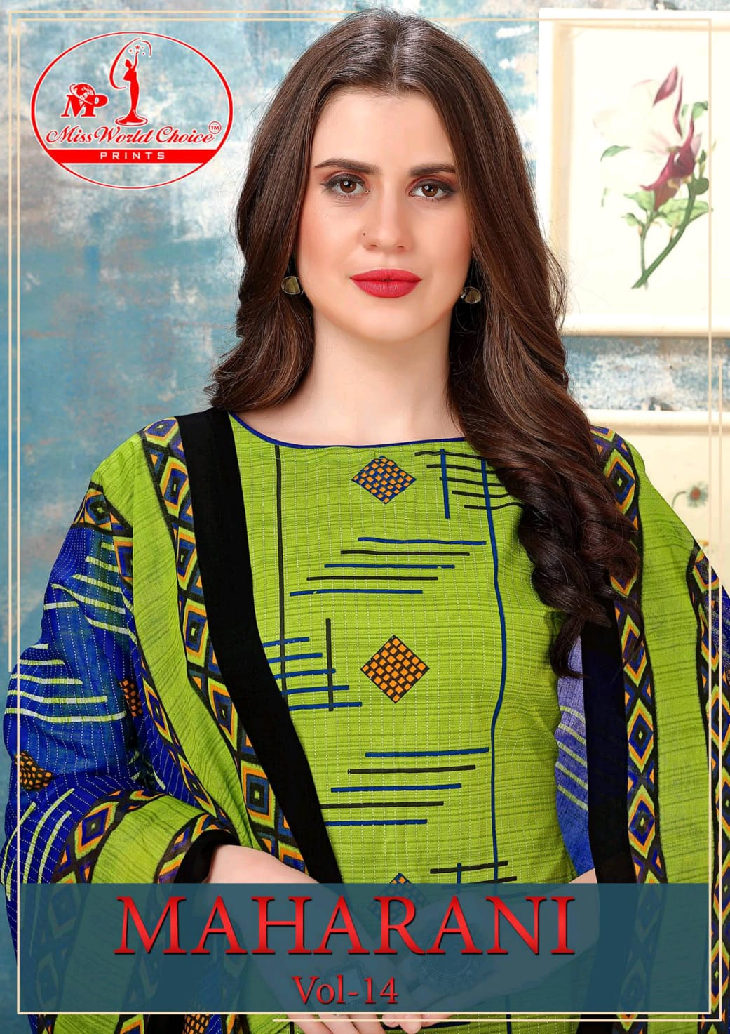 Maharani Vol 14 By Miss World Choice Cotton Formal Wear Salwar Suits At Lowest Rate