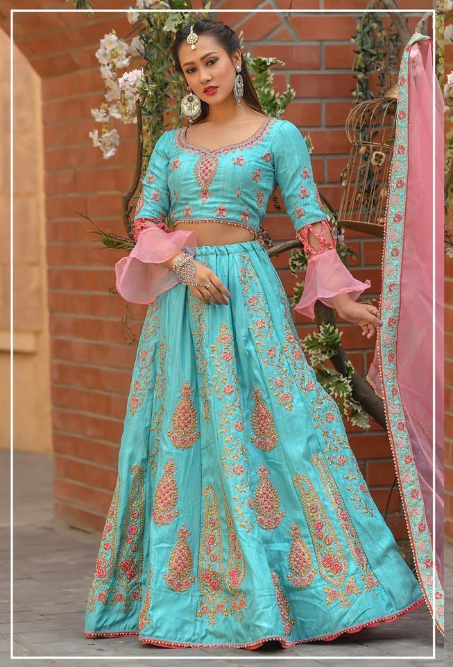 Peafowl Vol 63 By Peafowl Designer Functional Wear Designer Chennai Silk Wedding Collections Lehenga