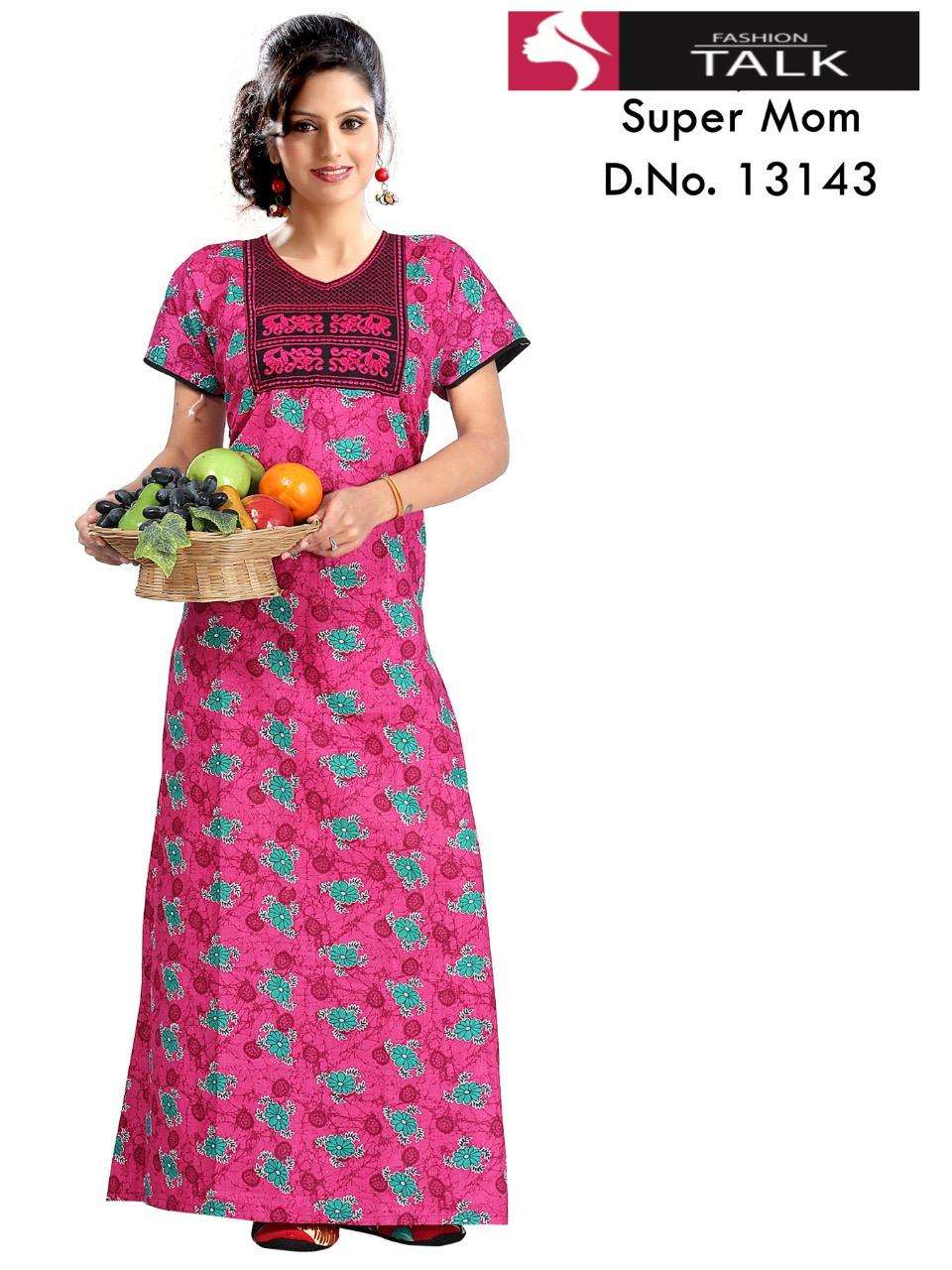 fashion talk 13143 heavy cotton nigthy gown collection