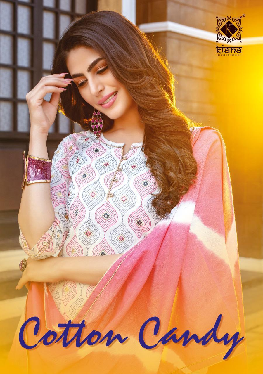 Kiana Cotton Candy Top Bottom With Dupatta Readymade Collection At Best Rate On Krishna Creation
