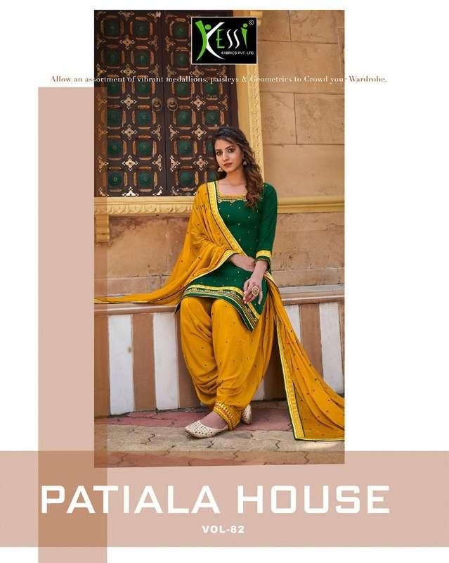 patiyala house vol 82 by kessi fabrics punjabi suits wholesaler in surat