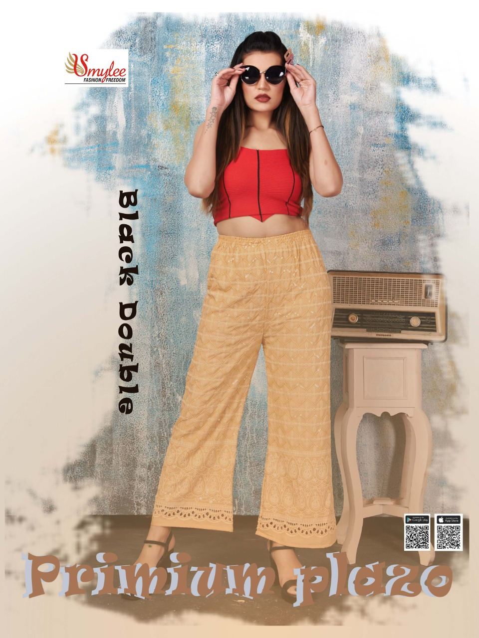 Premium Plazo Vol 2 By Rung Heavy Rayon Stylish Bottom Wear At Lowest Rate