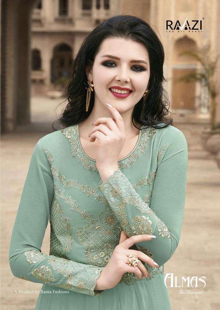 rama raazi almas anarkali salwar kameez for women ethnic collection
