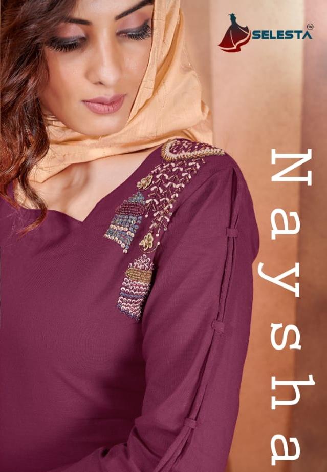 Selesta Naysha Designer 3 Piece Readymade Salwar Suits Collection Online