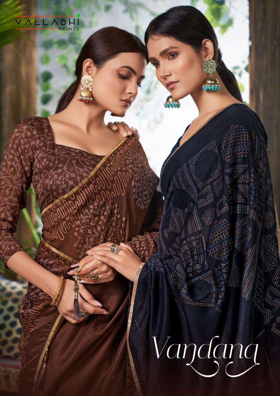 vallabhi prints vandana vichitra fancy saris online