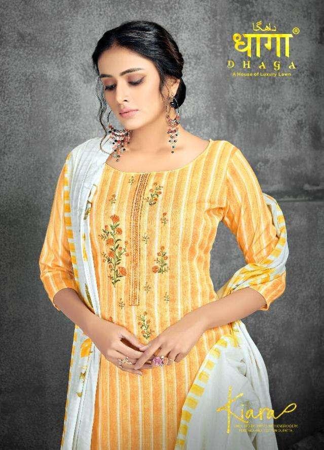 aadesh kiara by dhaga linen summer wear ethnic salwar kameez