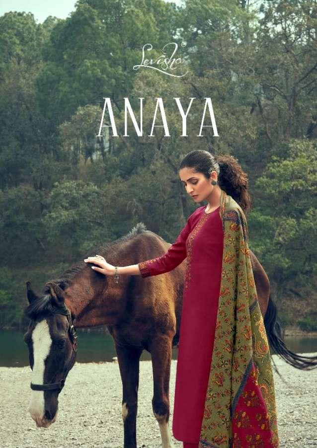 anaya by levisha jam cotton kashmiri work suits wholesaler