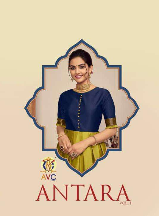 avc antra vol 1 silk gown readymade collection