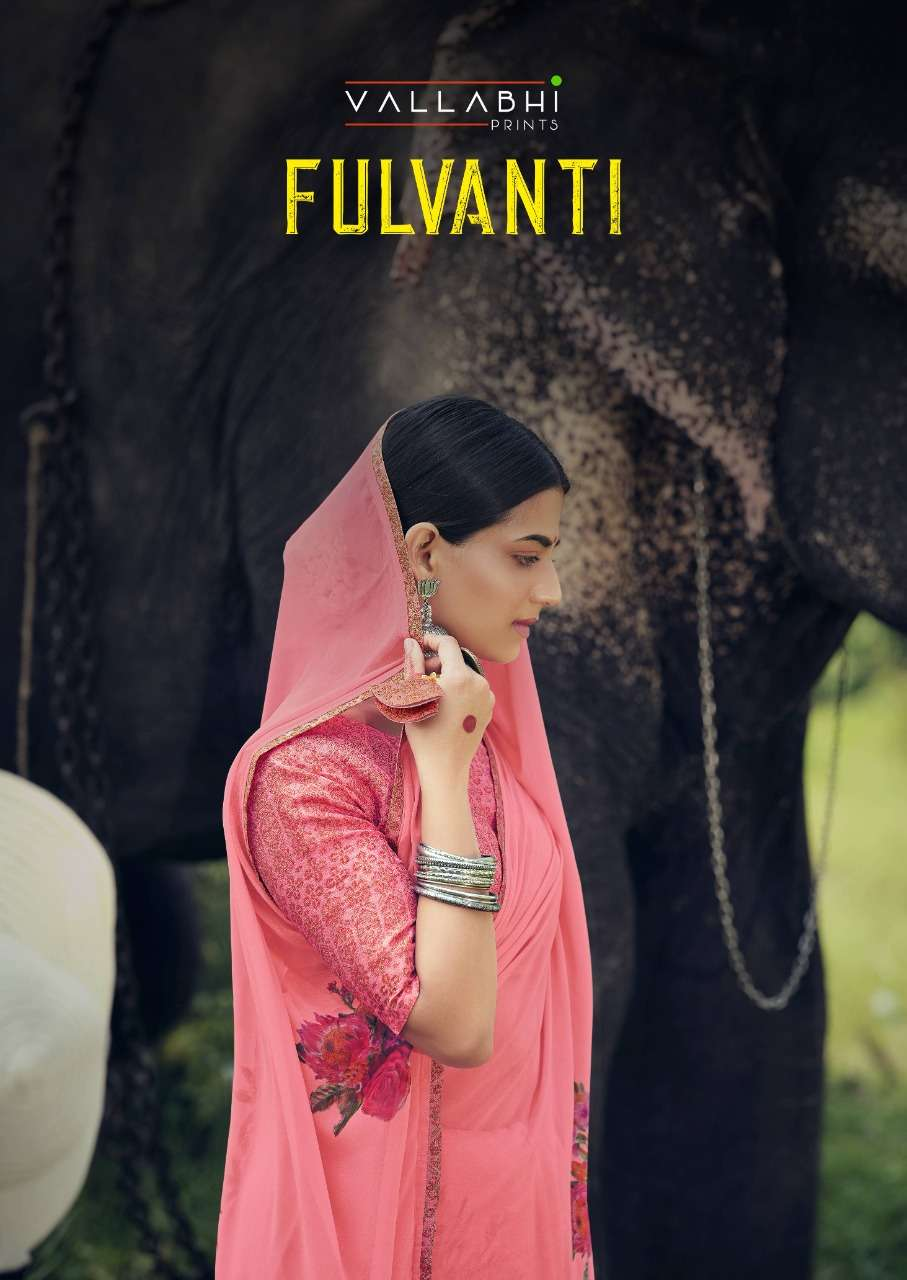 fulvanti by vallabhi weightless printed daily wear fancy saree