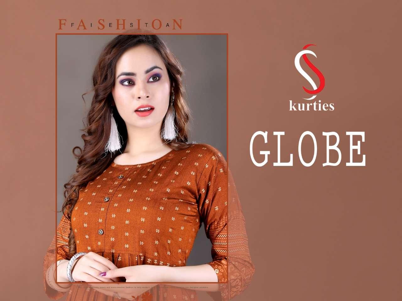 Globe by ss kurtis heavy rayon kurti Catalog Collection Wholesaler Lowest Best Price In Ahmedabad Surat Chennai India Uk Usa Malaysia Singapore Canada Australia