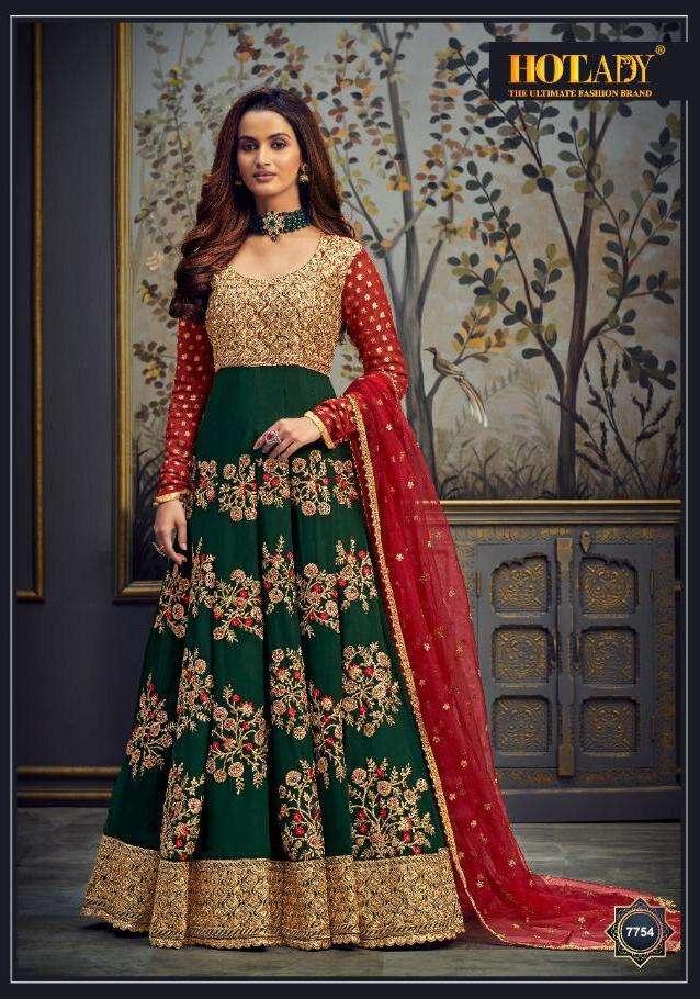 hotlady safeena 21 wedding long salwar kameez wholesaler