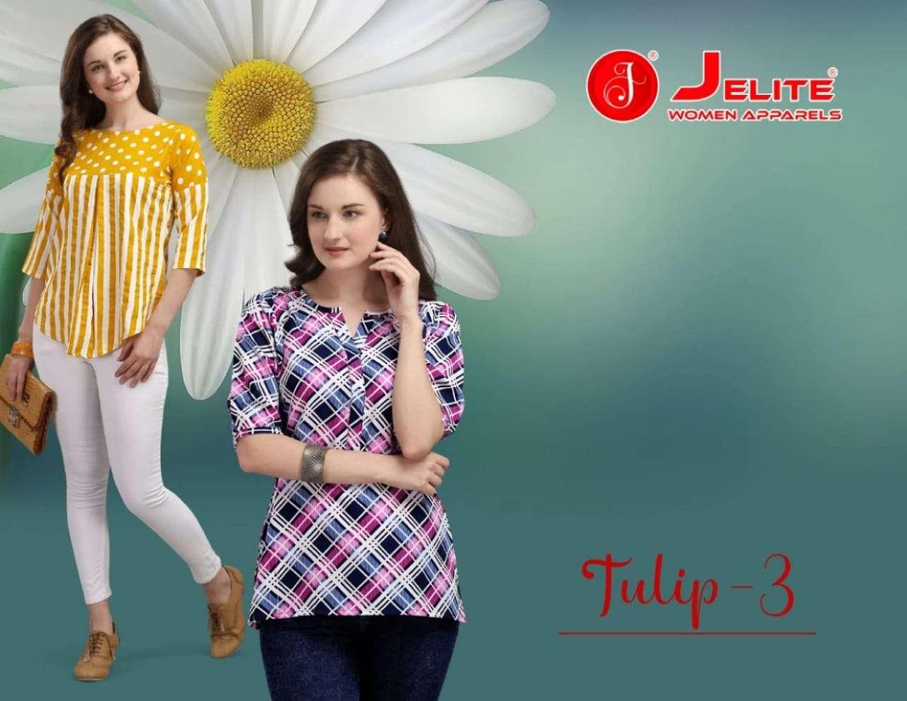 jelite tulip vol 3 short tops for girls