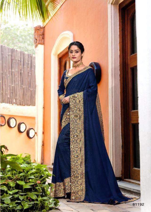kajal by right women vichitra silk saree with jacquard border concept