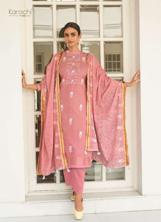 kesar karachi prints suits wholesaler in surat falak lawn suits catalog