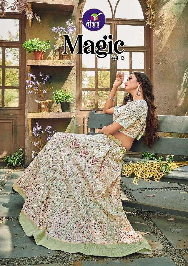 magic vol 13 by vitara silk crop top collection