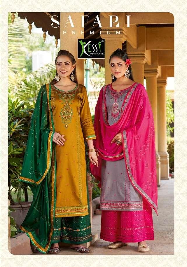 safari premium by kessi jam silk embroidery classy look salwar kameez