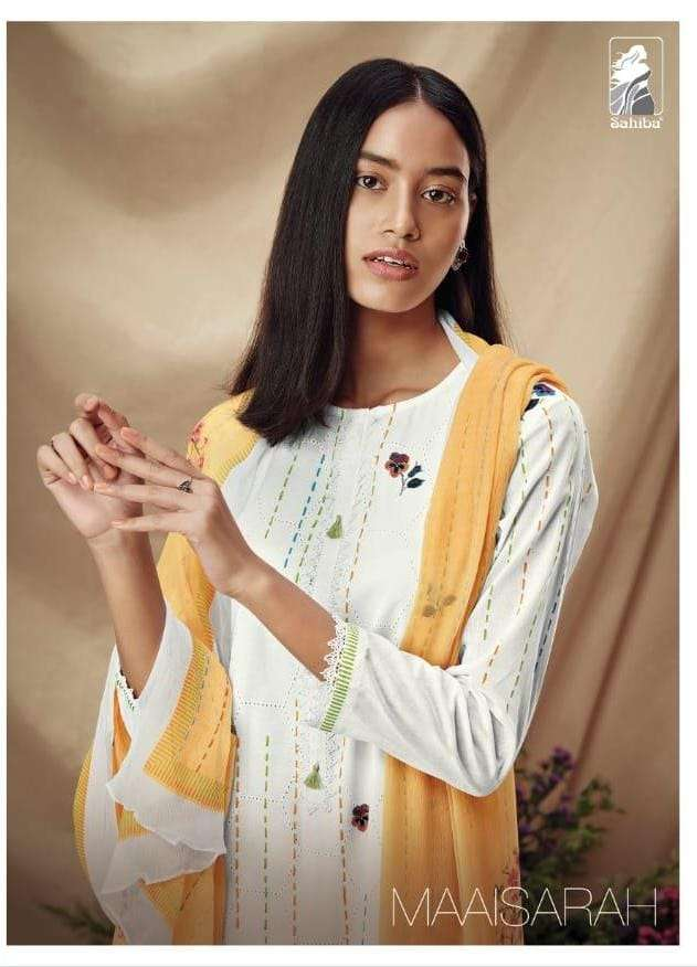 sahiba maaisarah cotton lady suits for summer special