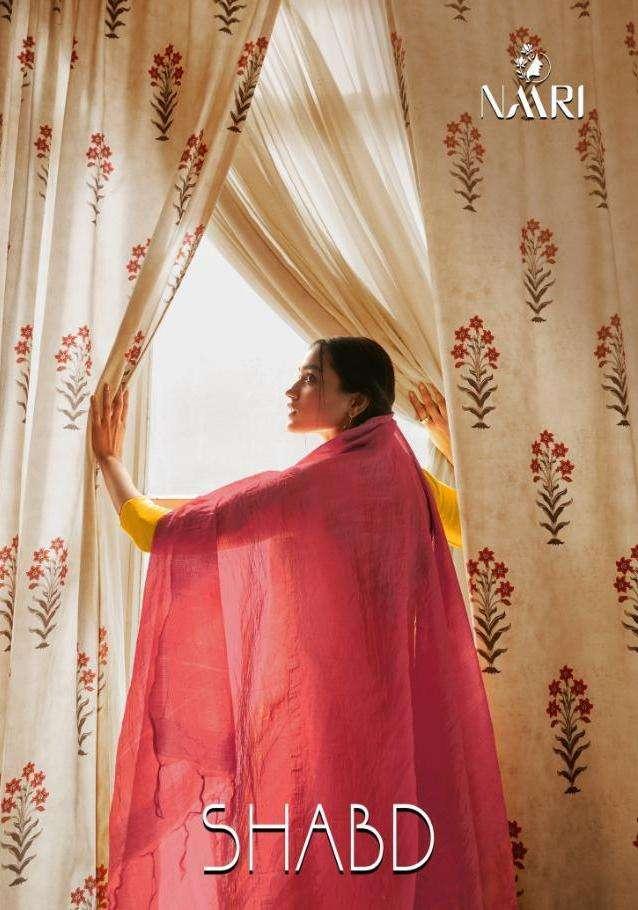 shabd by naari muslin embroidery fancy salwar kameez