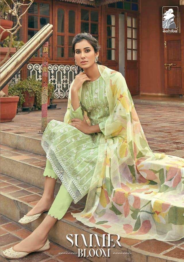 summer bloom by sahiba cotton cambric exclusive indian salwar kameez