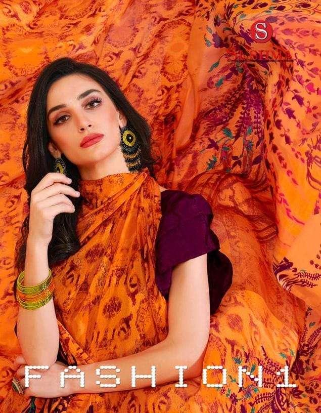 sushma fashion 1 crape printed daily wear sarees