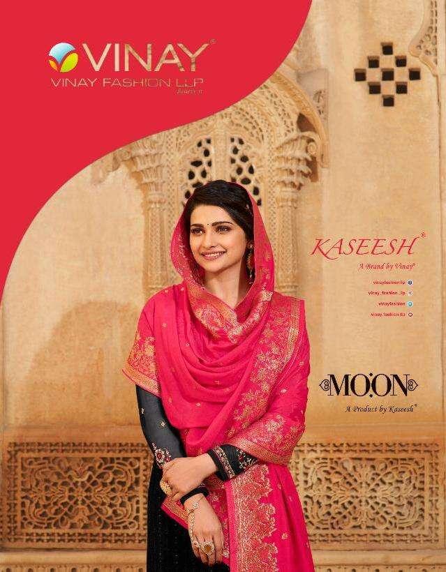vinay moon by kaseesh georgette embroidery schiffli work salwar kameez