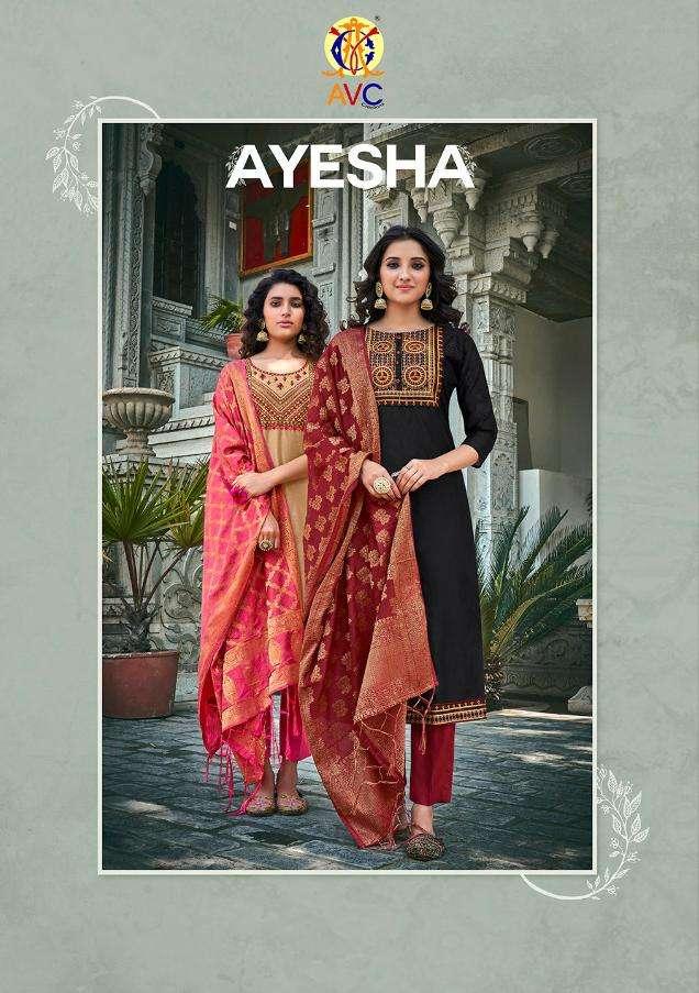 ayesha by avc designer chudidar readymade salwar kameez