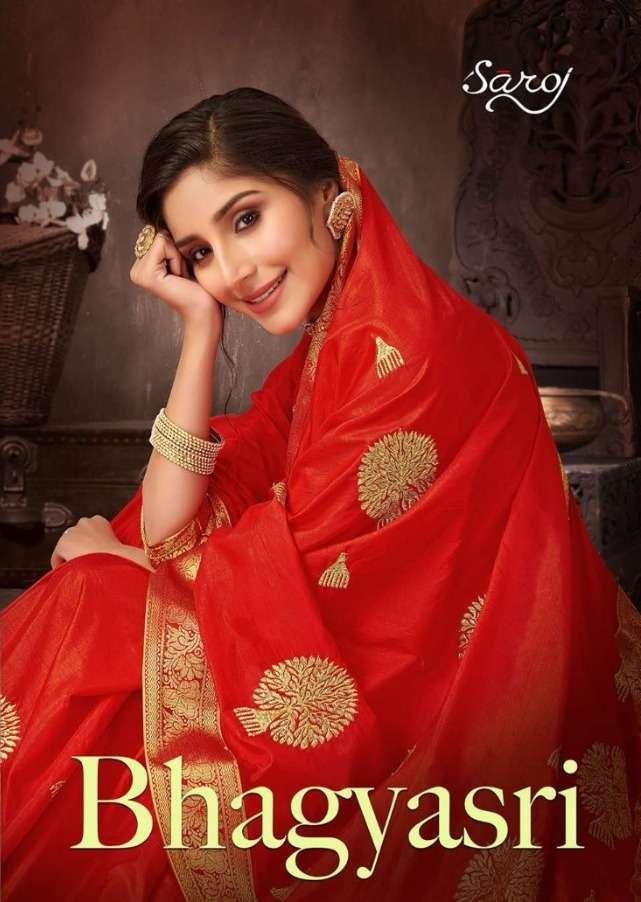 bhagyashri by saroj sana silk embroidery sarees