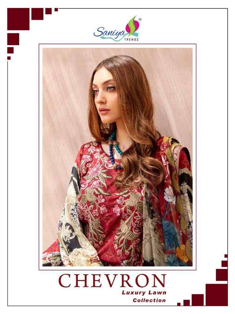 chevron by saniya trendz cotton pakistani fancy dresses
