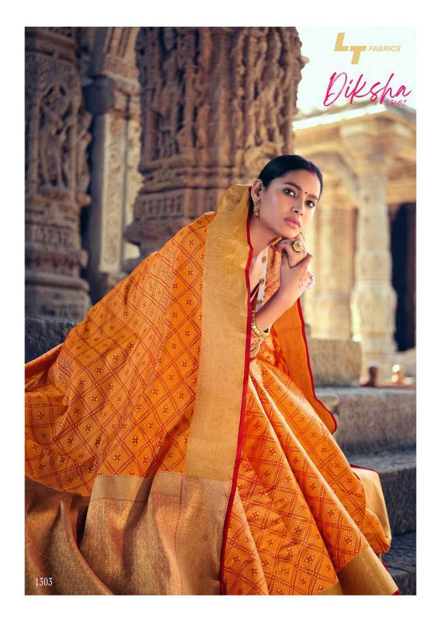 diksha vol 2 by lt fashion patola silk traditional wear sarees