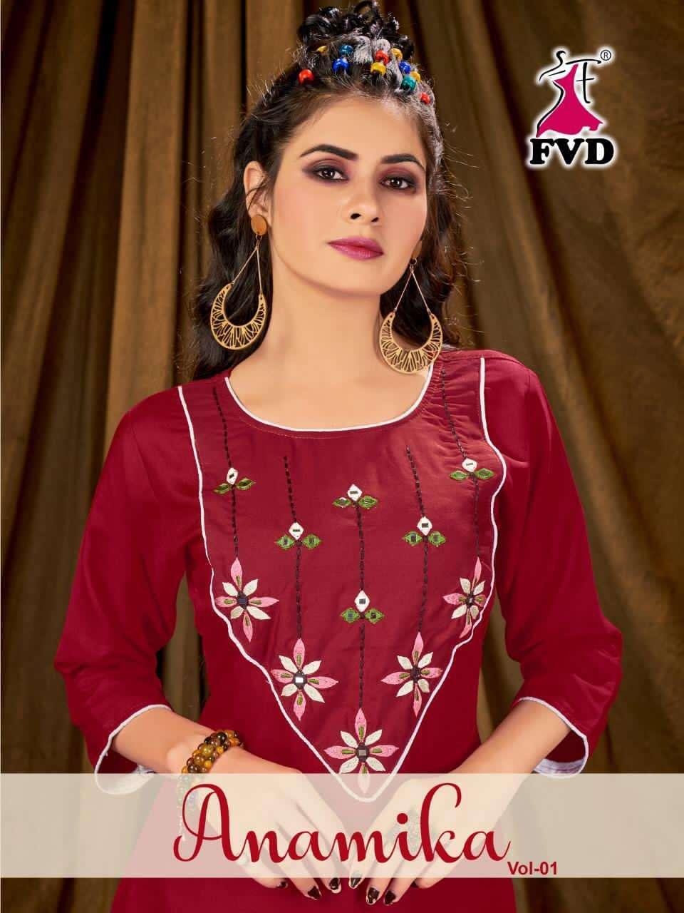 Fashion valley dress presents anamika vol-1 new catalogue for kurti-Pent