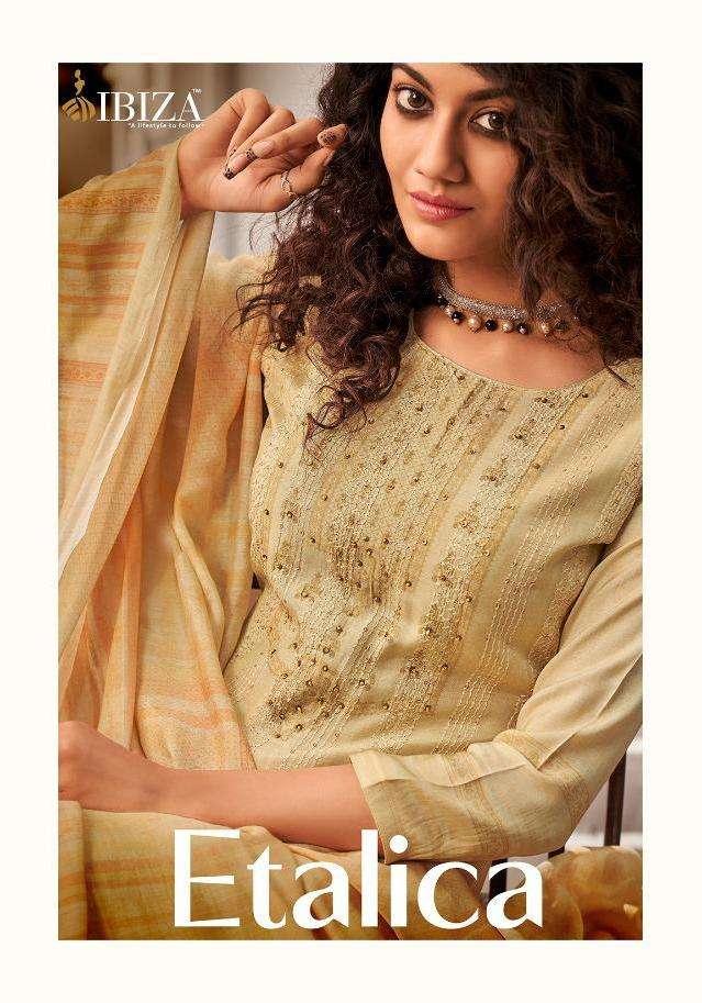 ibiza present etalica muslin silk summer wear indian suits supplier