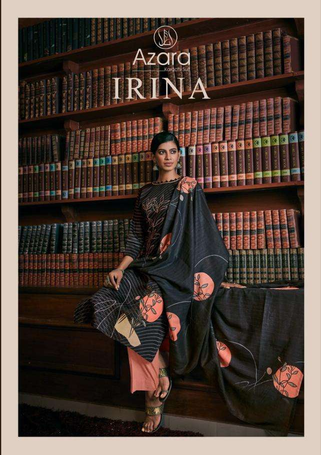 irina by radhika jam cotton casual wear dress materials