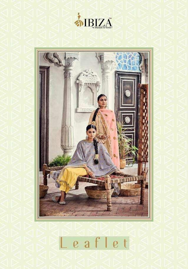 leaflet by ibiza lawn cotton designer indian suits
