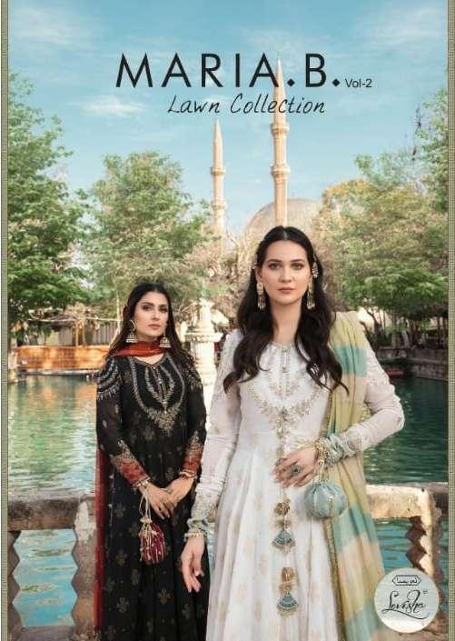 levisha maria b lawn vol 2 lawn cotton pakistani salwar kameez