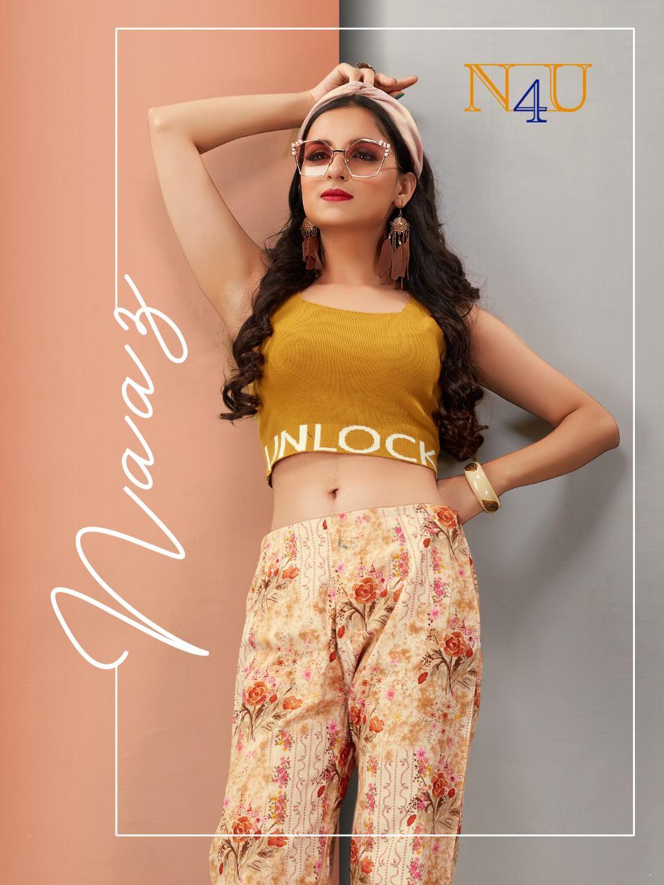 Neha Fashion Naaz Pure Flex Printed Designer Pant Seller Surat
