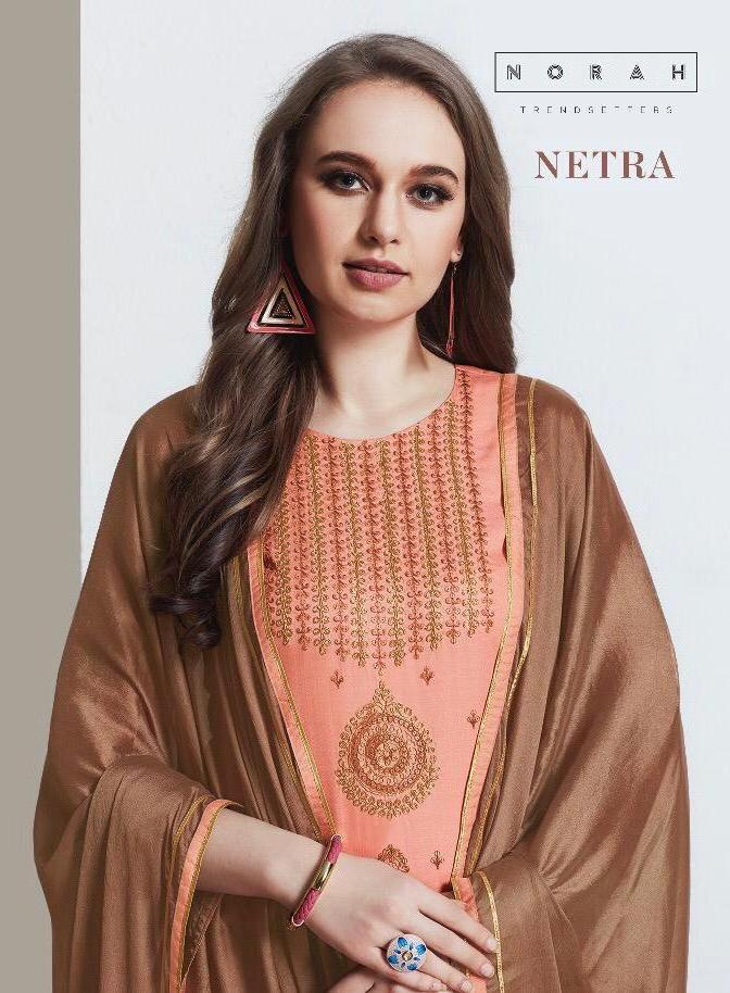 Neha Fashion Netra Tusser Silk Readymade Salwar Kameez Wholesale Price