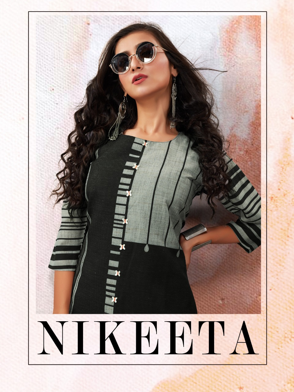 Neha Fashion Nikeeta Handloom Cotton Casual Stylish Fancy Kurti