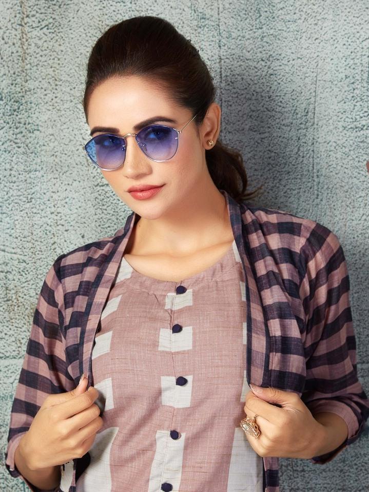 Neha Fashion Present Neelam Fancy Cotton Jacket Style Kurti