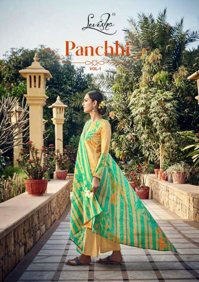 panchhi by levisha jam cotton ethnic wear salwar kameez