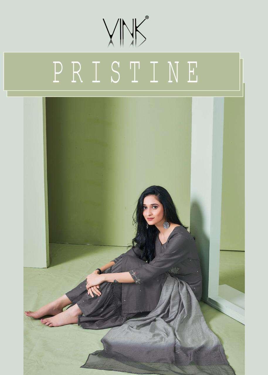 pristine by vink silk readymade sharara salwar kameez