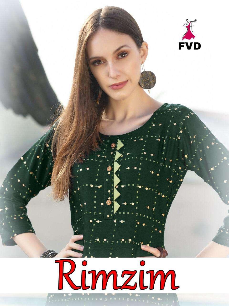 rimzim by fvd rayon top with sharara wholesaler