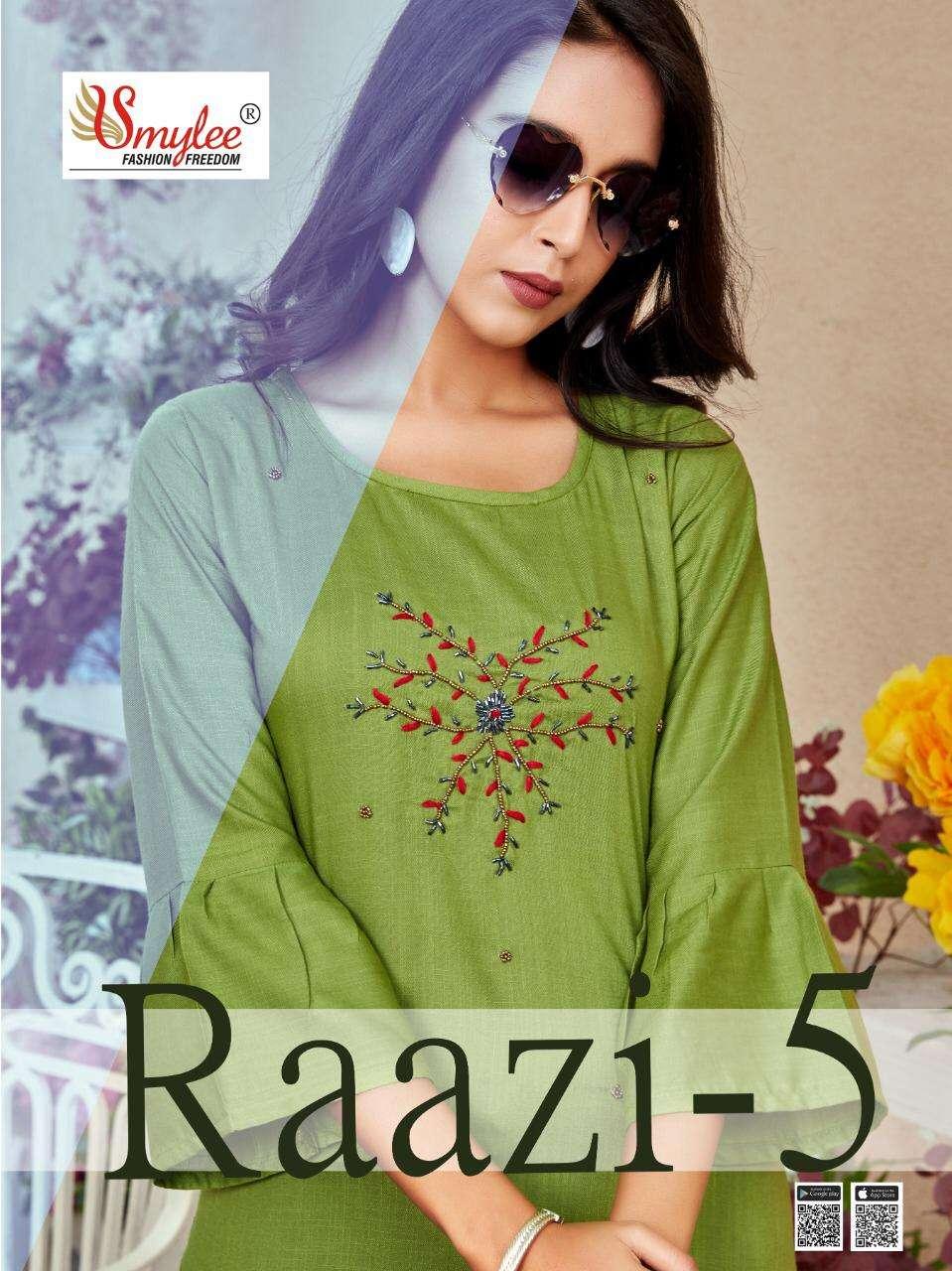 rung raazi vol 5 slub rayon casual wear kurtis